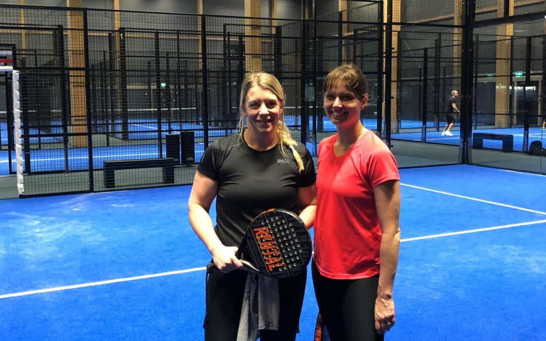 Feb 19th – Padel and sweat